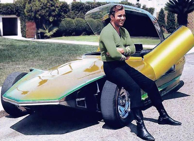 'Captain Kirk' (William Shatner) and The Reactor 1967