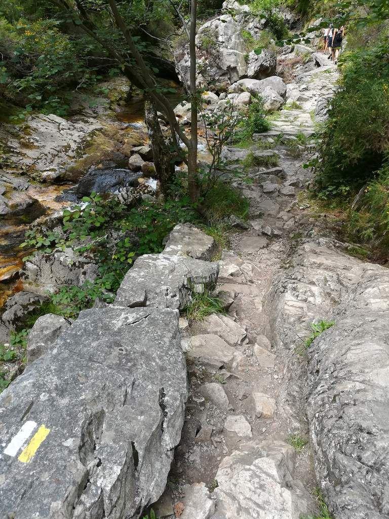"""La randonnée cest toujours du sport, je me bouge !!! """"La Ruta del Alba"""", Parque de Redes, Asturias"""