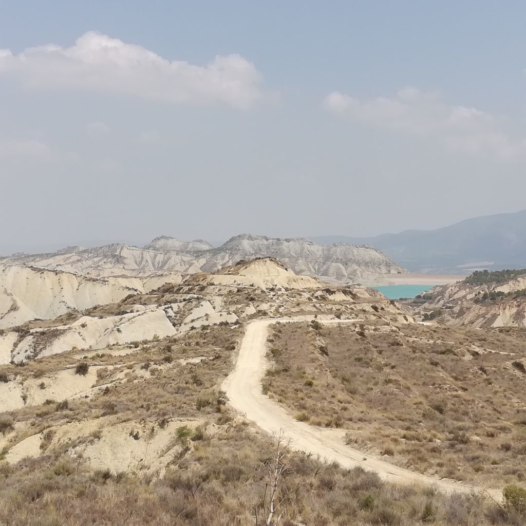 Une randonnée  à « Los Barrancos de Geba » dans la Sierra de Espuna. Région de Murcie en Espagne