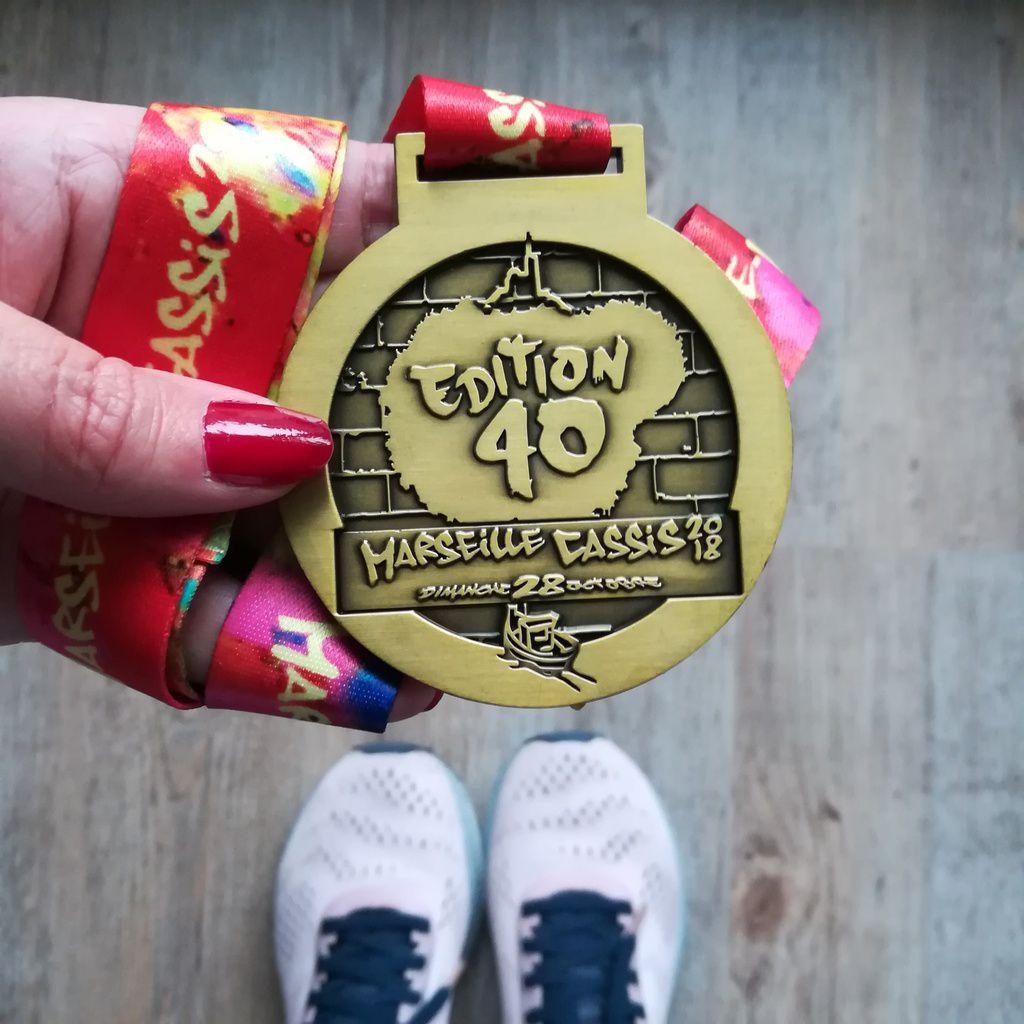 Cette course incroyable que j'ai couru : Marseille-Cassis 2018