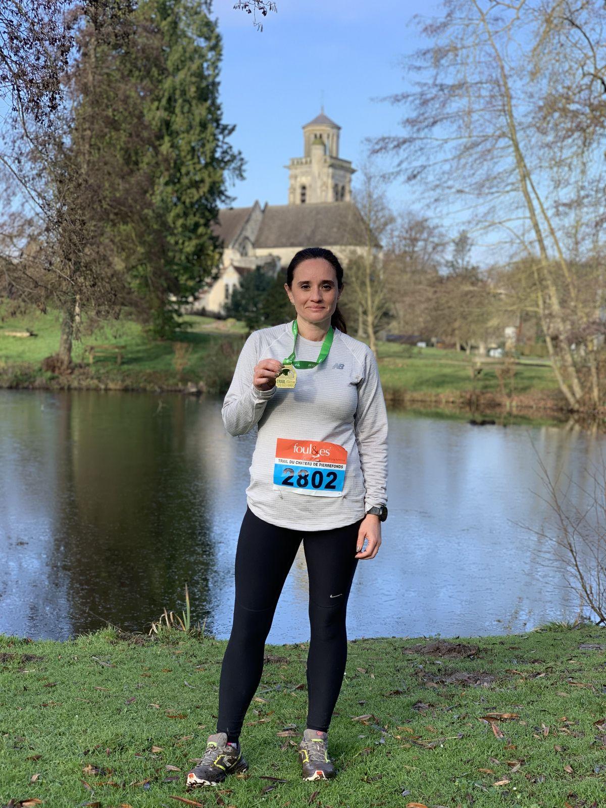 J'ai couru le trail du Château de Pierrefonds 2020