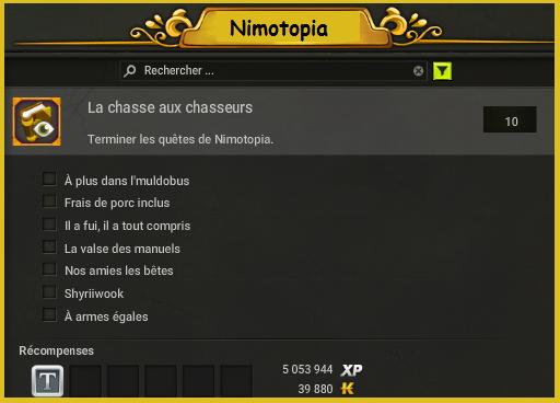 Succès Nimotopia