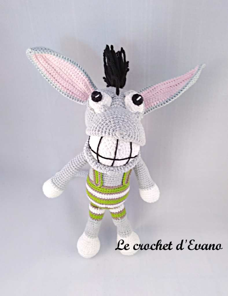 Amigurumi Killy, l'âne punk