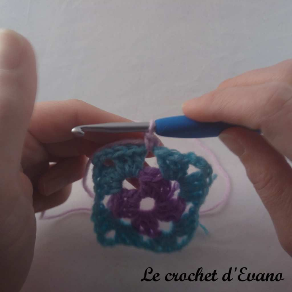 technique crochet knotless standing single crochet