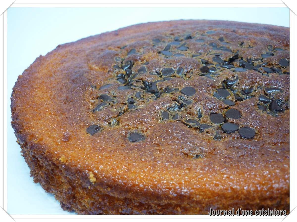 Gâteau au yaourt aux pépites de chocolat