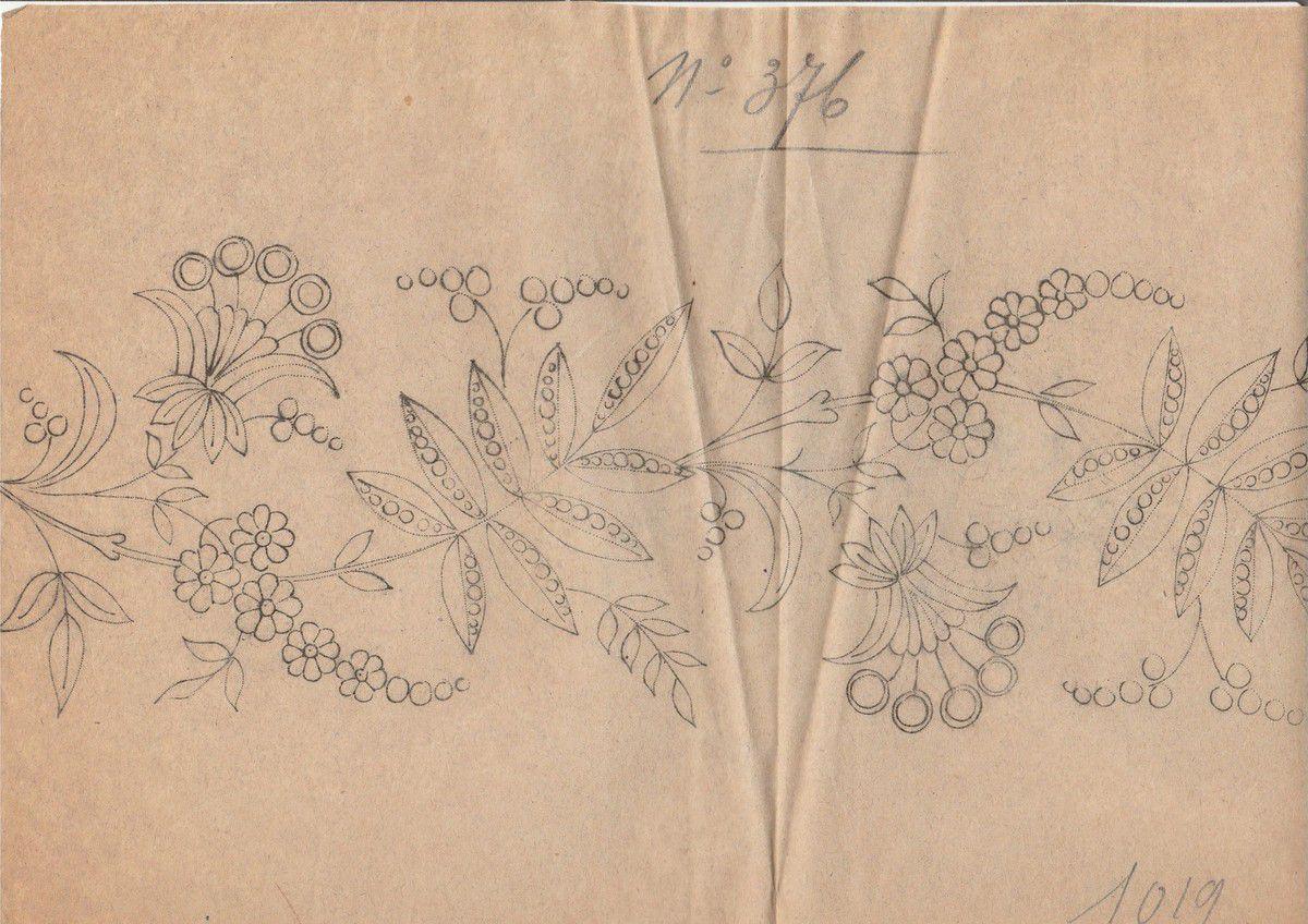 Archives de motifs de broderies pour linge de maison