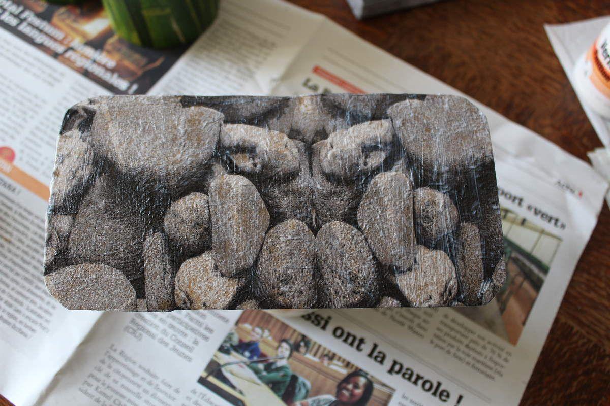 Pots de rangement en carton recyclé
