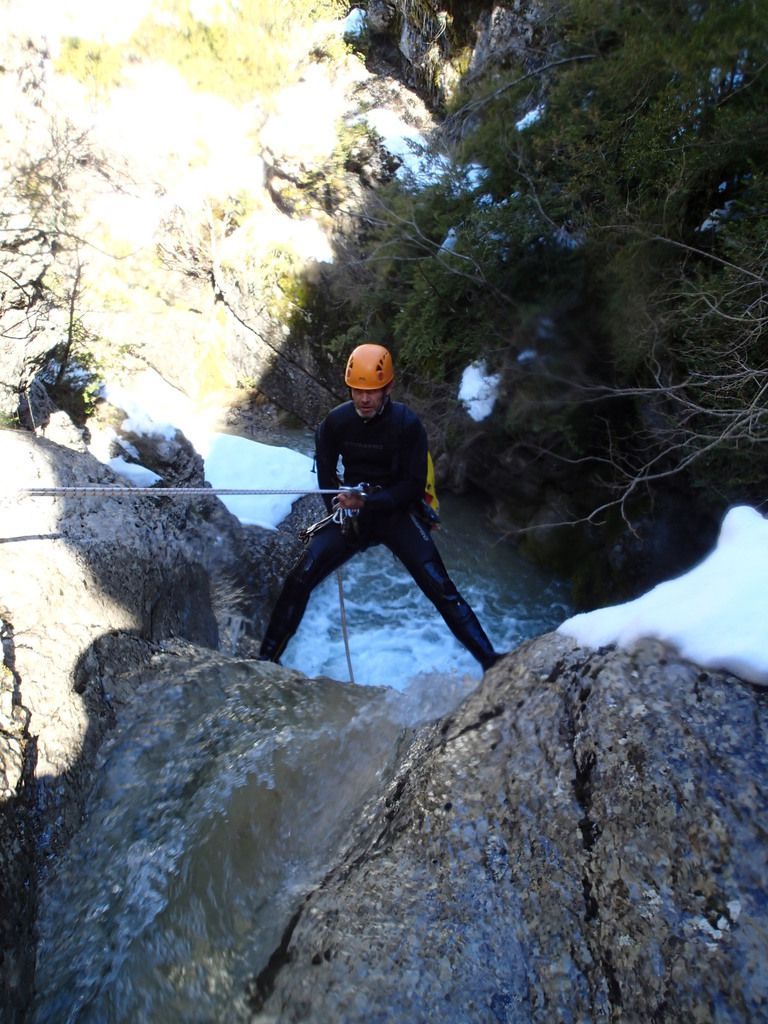 eric chauviré canyoning castellane