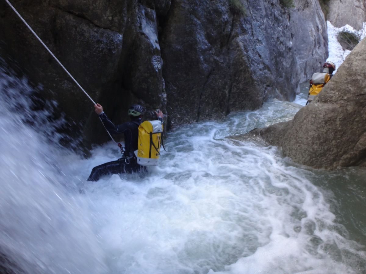 lionel canyoning castellane