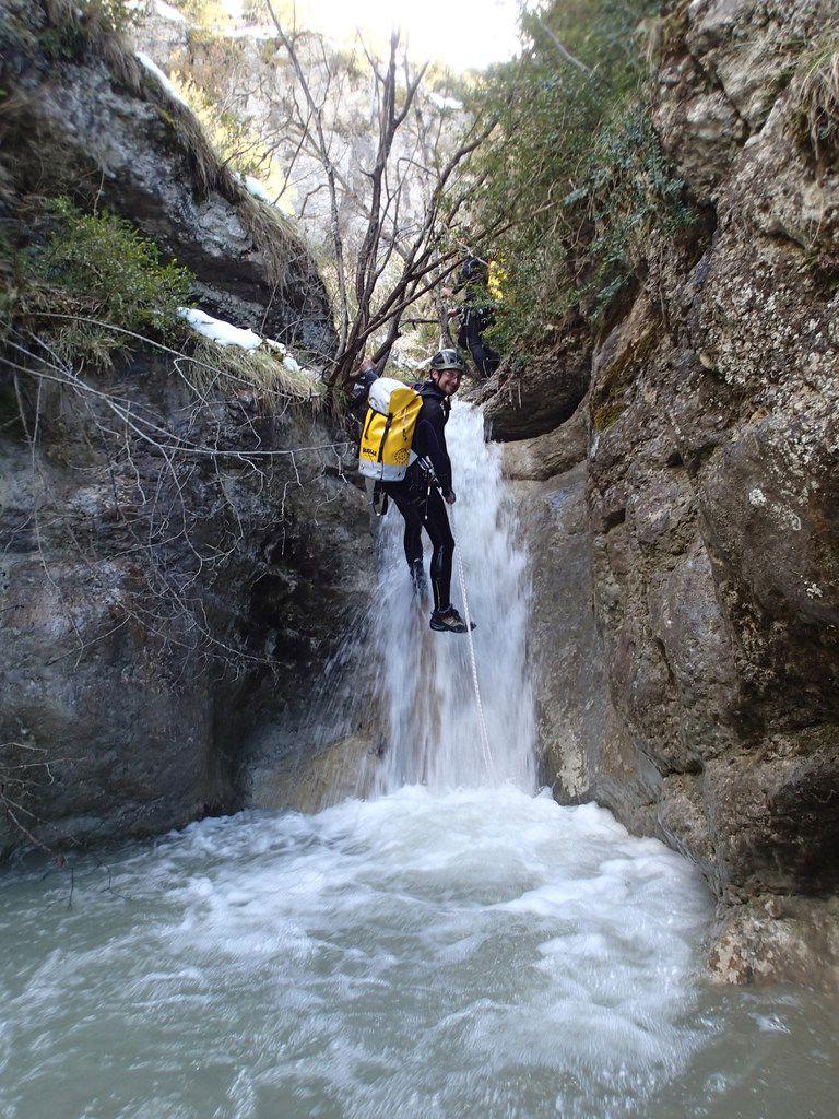 lionel castoyannis canyoning castellane