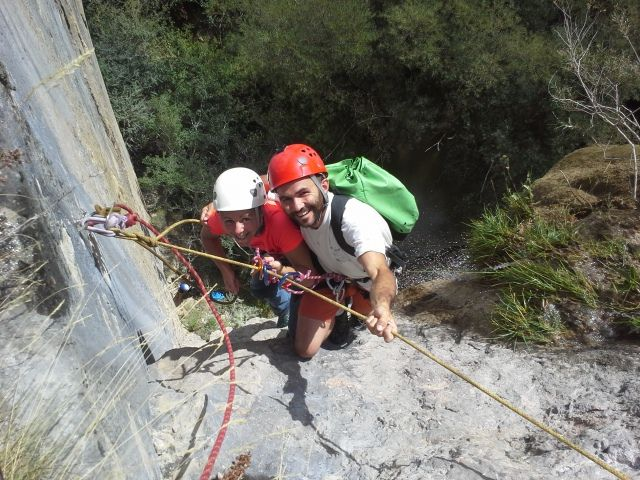 ravin de Raï(chasteuil canyoning)