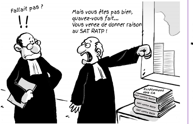 La RATP s'arrange avec les décisions de justice qui la condamnent !