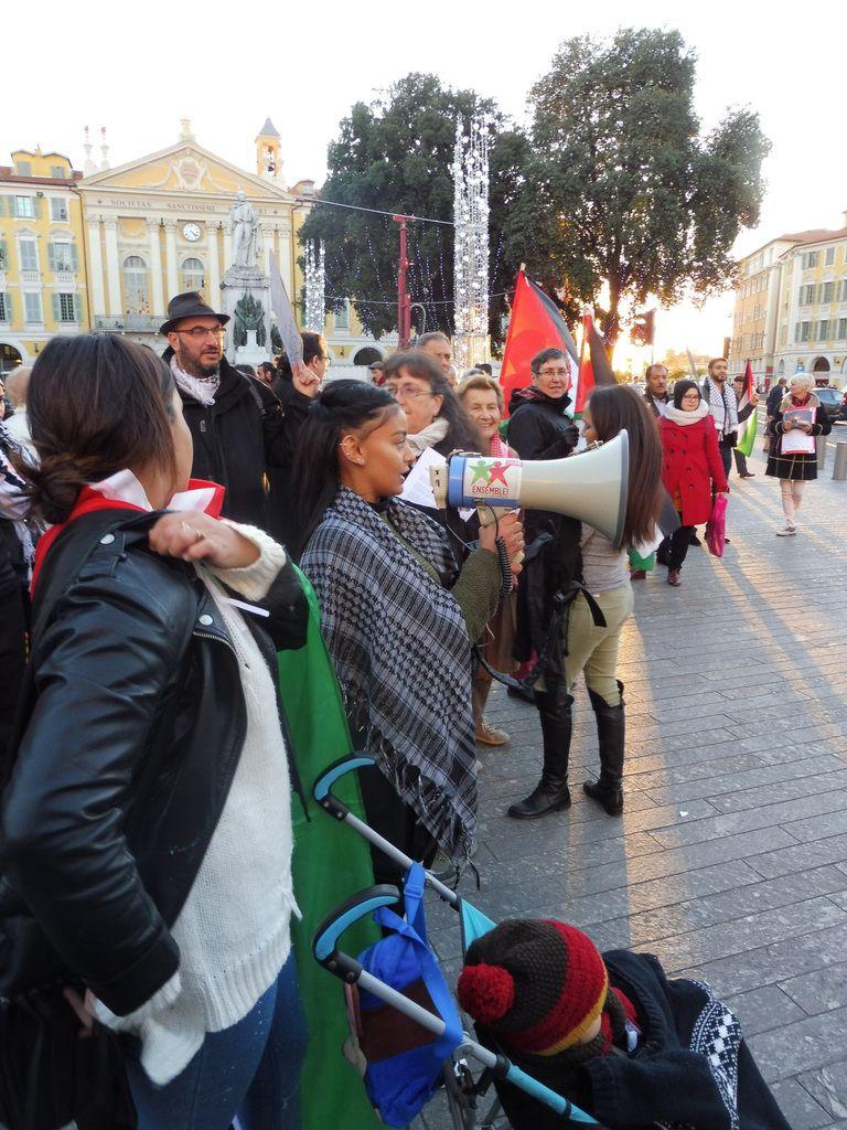 Nice : Rassemblement Place Garibaldi contre l'annexion de Jérusalem, pour la défense du droit international et des droits inaliénables du peuple Palestinien