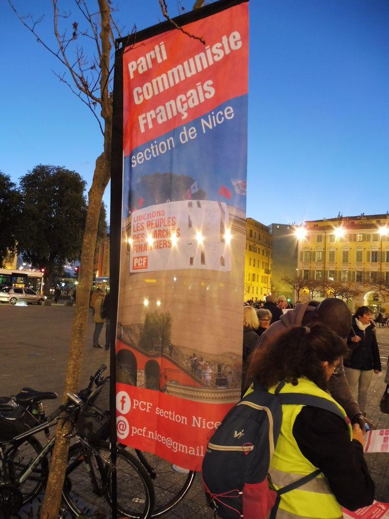 Succès grandissant pour la Grande Consultation sur le logement organisée par la section de Nice du PCF