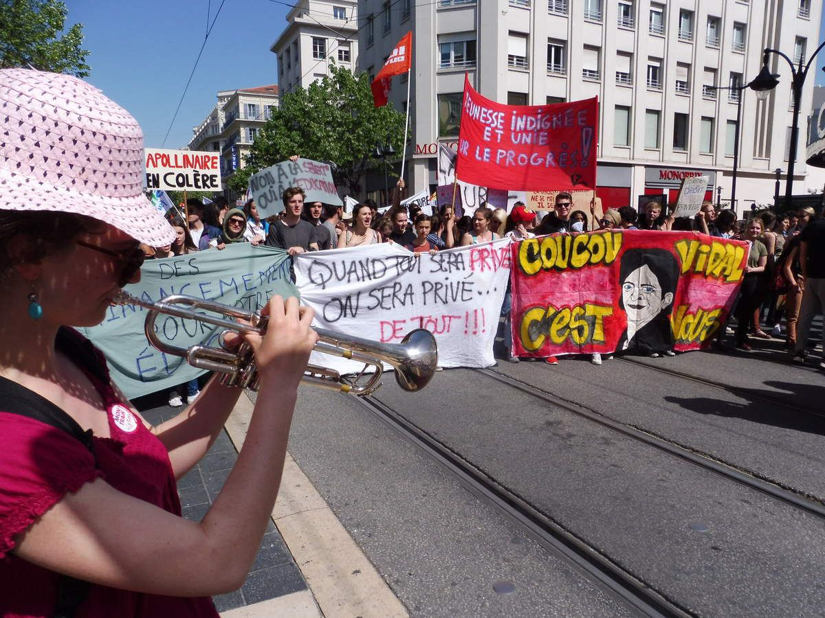 Manifestation interprofessionnelle ensoleillée et réussie à Nice !