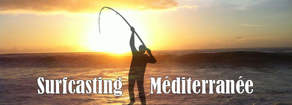 Surfcasting Méditerranée