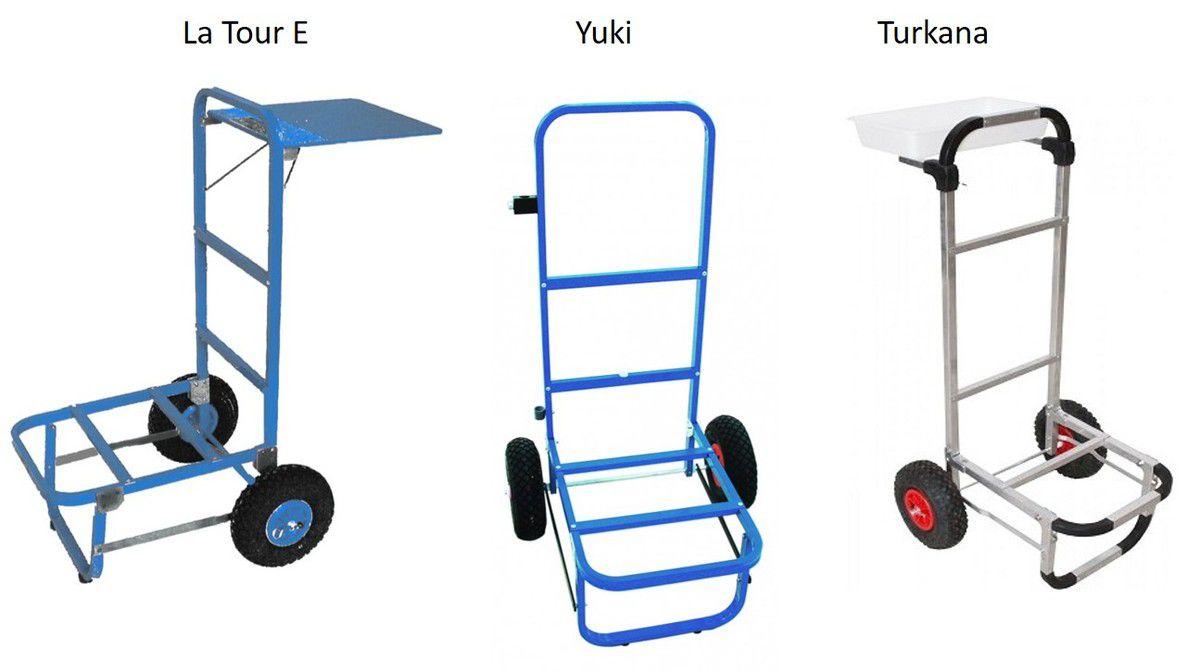 Choisir un chariot de surfcasting