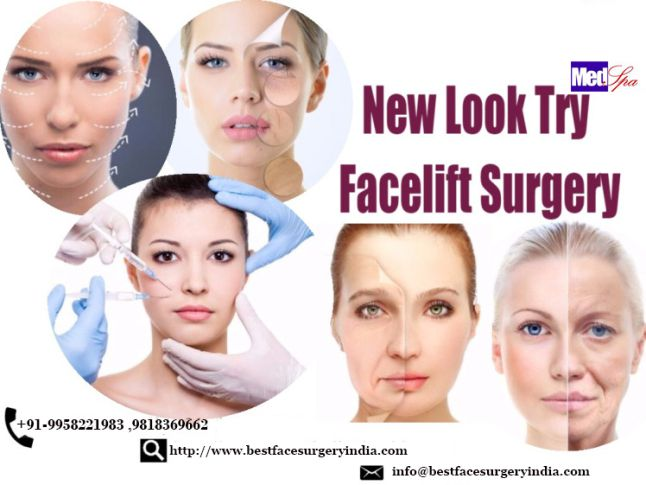 Facelift Procedure to make your face even more beautiful book your appointment with BestFaceSurgeryIndia