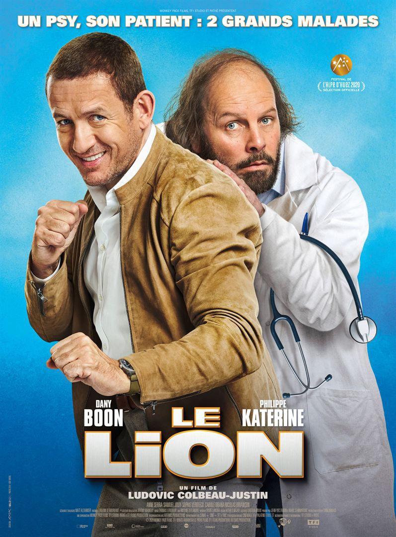 Le Lion de Ludovic Colbeau-Justin avec Danny Boon, Philippe Katerine, Anne Serra, Samuel Jouy, Sophie Verbeeck et Carole Brana.