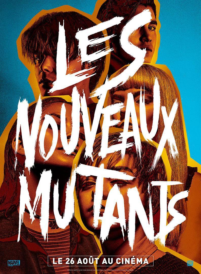 Les Nouveaux Mutants de Josh Boone avec Maisie Williams, Anya Taylor-Joy, Charlie Heaton, Henry Zaga, Blu Hunt, Alice Braga et Adam Beach.