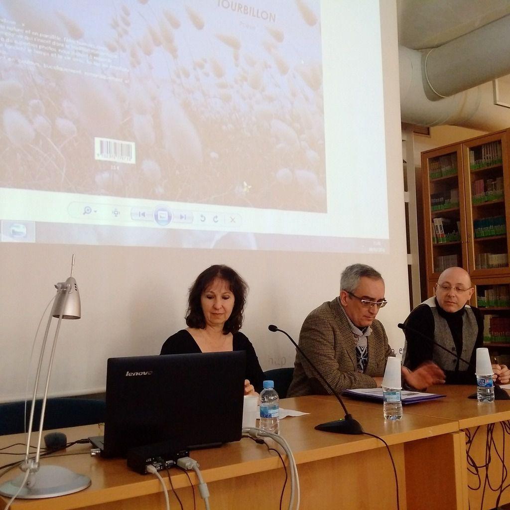 Conférence d'Elizabeth Robin à l'Université d'Alicante