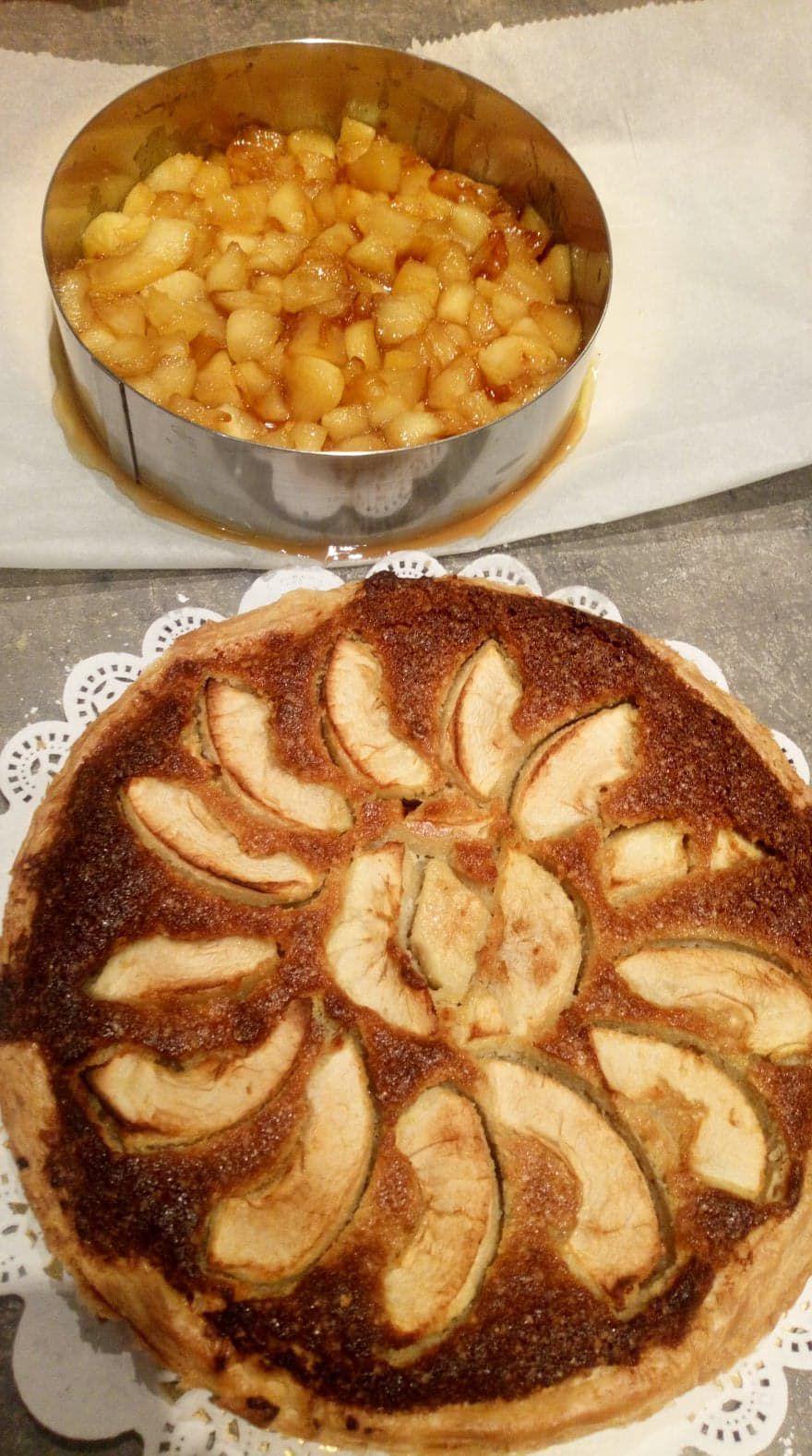 pour allier finesse, douceur , croustillant et grande gourmandise, alors je vous conseille cette tarte qui est plutôt contrairement aux apparences facile à réaliser