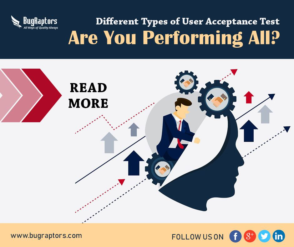 types of user acceptance testing