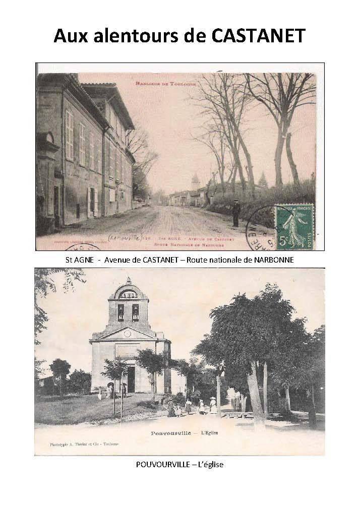 Livret-Guide de Castanet -1912-  1ère partie