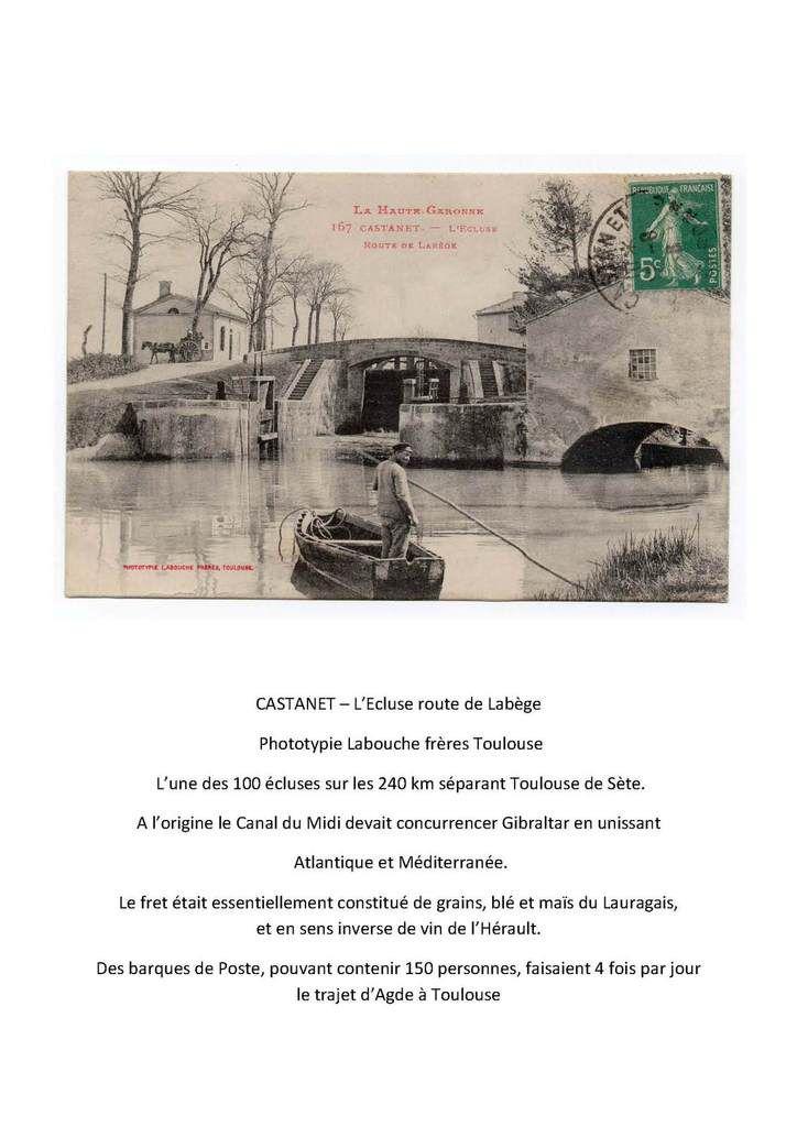 Livre-guide de Castanet -1912 - 3ème partie