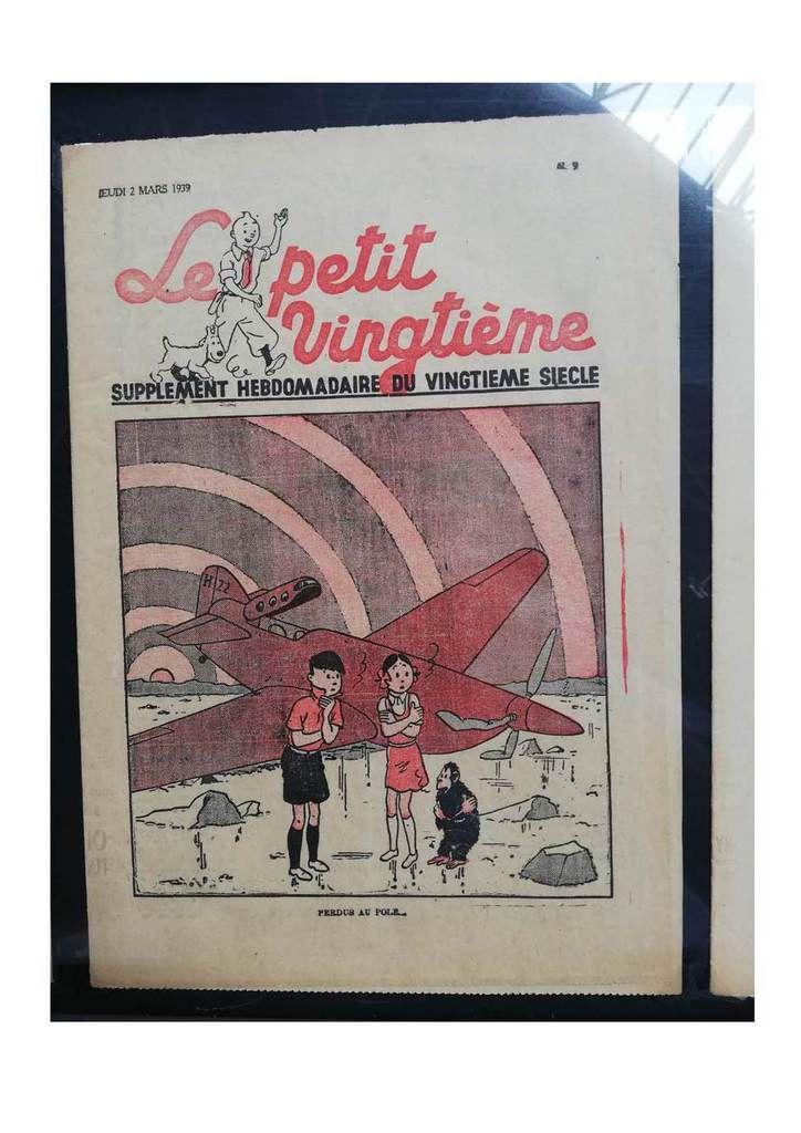 Tintin et ses avions  • musée AEROSCOPIA