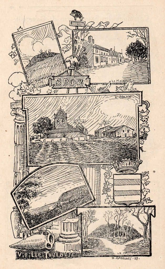 Un canton languedocien : CASTANET TOLOSAN en 1929  3ème partie