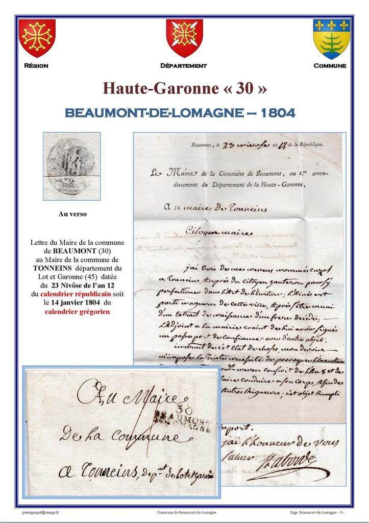 Beaumont-de-Lomagne    Haute Garonne