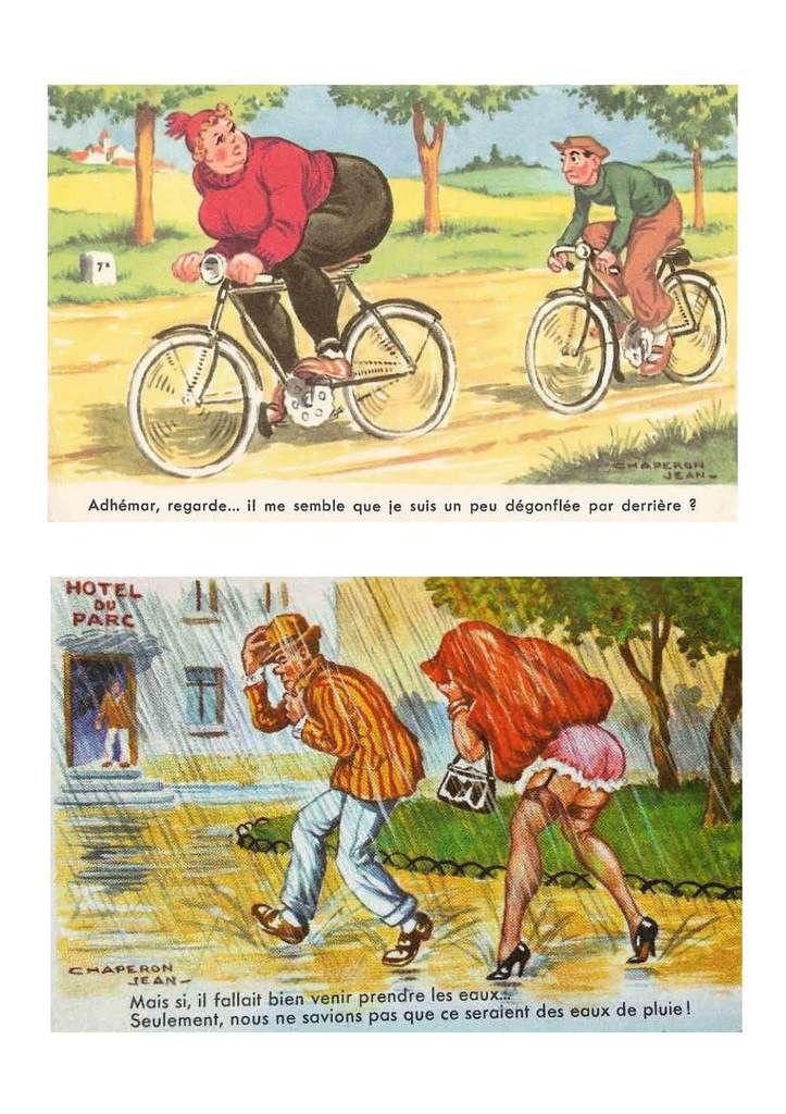 Cartes postales humoristiques - Jean CHAPERON