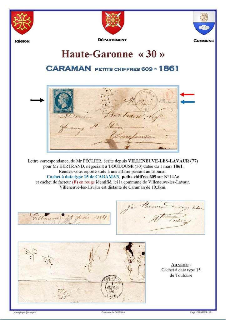 CARAMAN haute Garonne 30