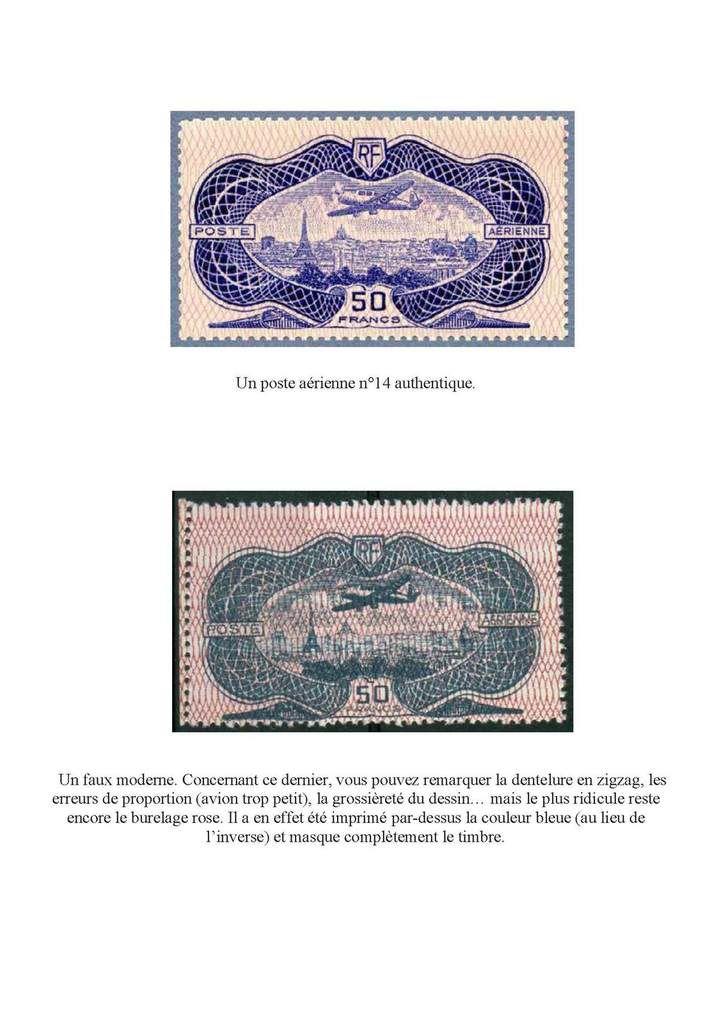 Petit inventaire de faux timbres