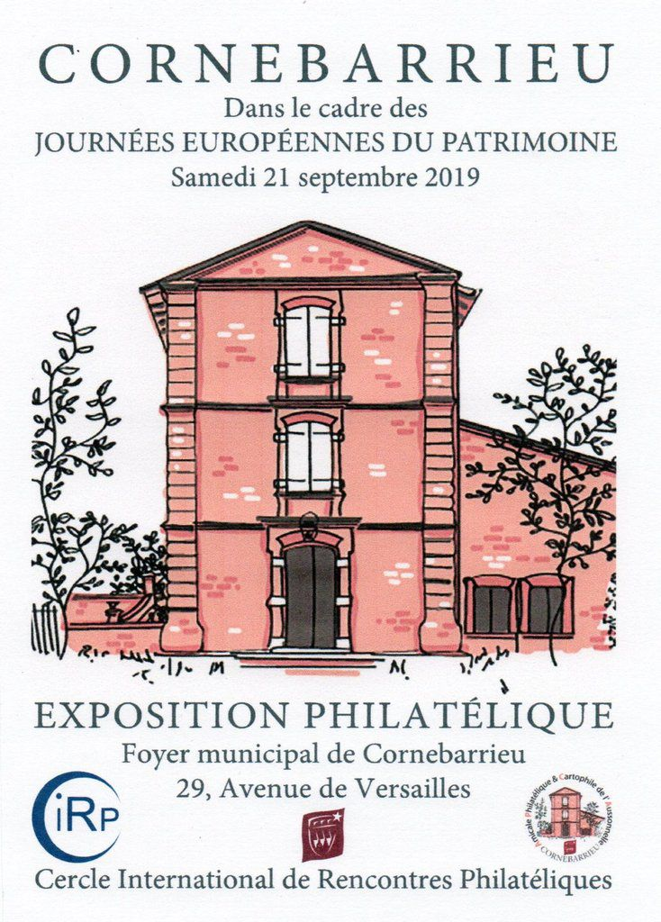 Informations CORNEBARRIEU Cercle International de Rencontres Philatéliques