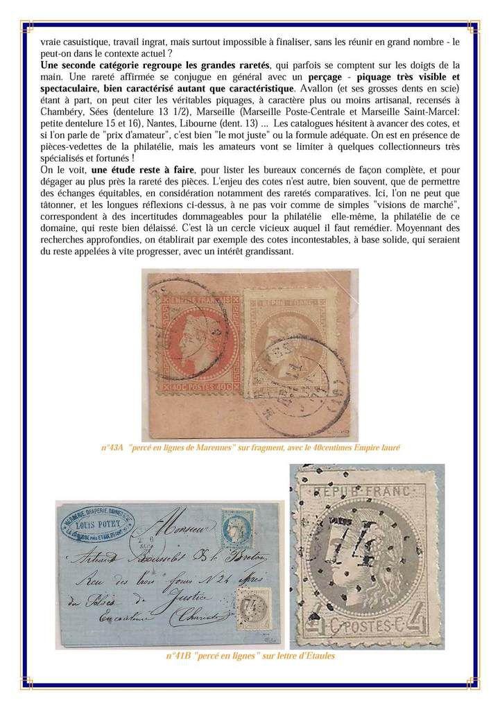 Philatélie  Cérès Emission de Bordeaux N°43
