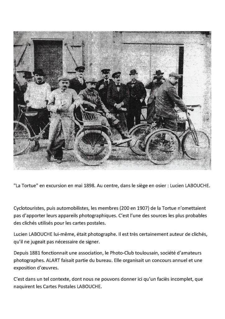 Cartes postales LABOUCHE frères article 1
