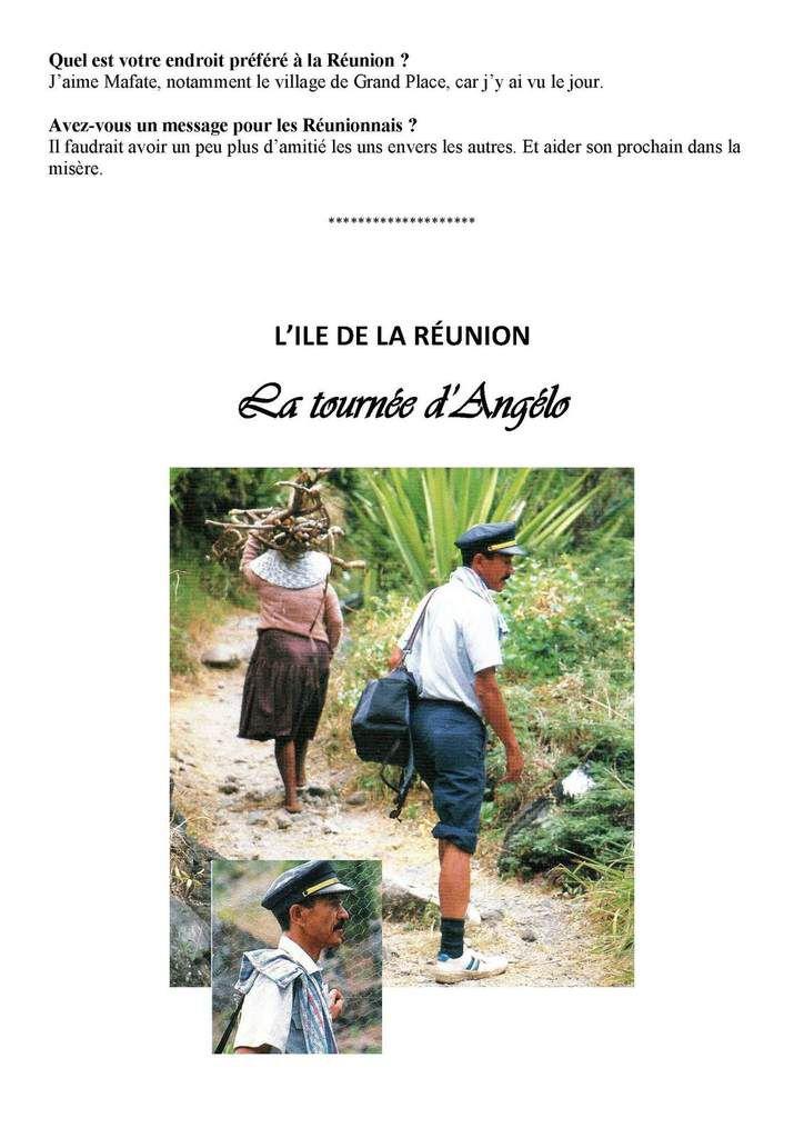 Ile de La REUNION - Des facteurs hors normes  Mrs Pausé et Thiburce Philatélie et Marcophilie
