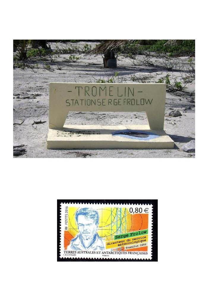 Programme philatélique 2019 Ile Tromelin