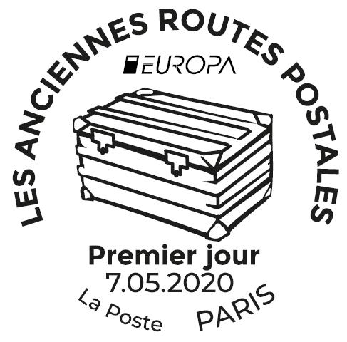 Emissions philatéliques Les anciennes routes postales