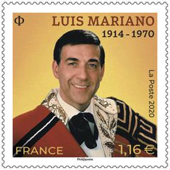 Programme philatélique 2020  Luis Mariano
