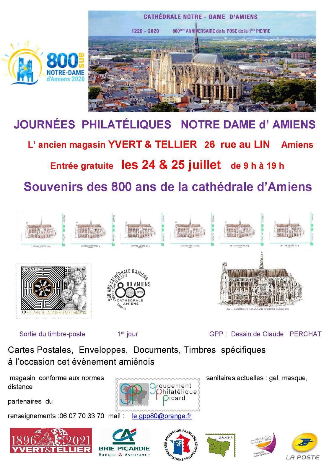 Les 800 ans de la cathédrale d'Amiens