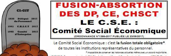 le CSE Comité Social Economique - explications