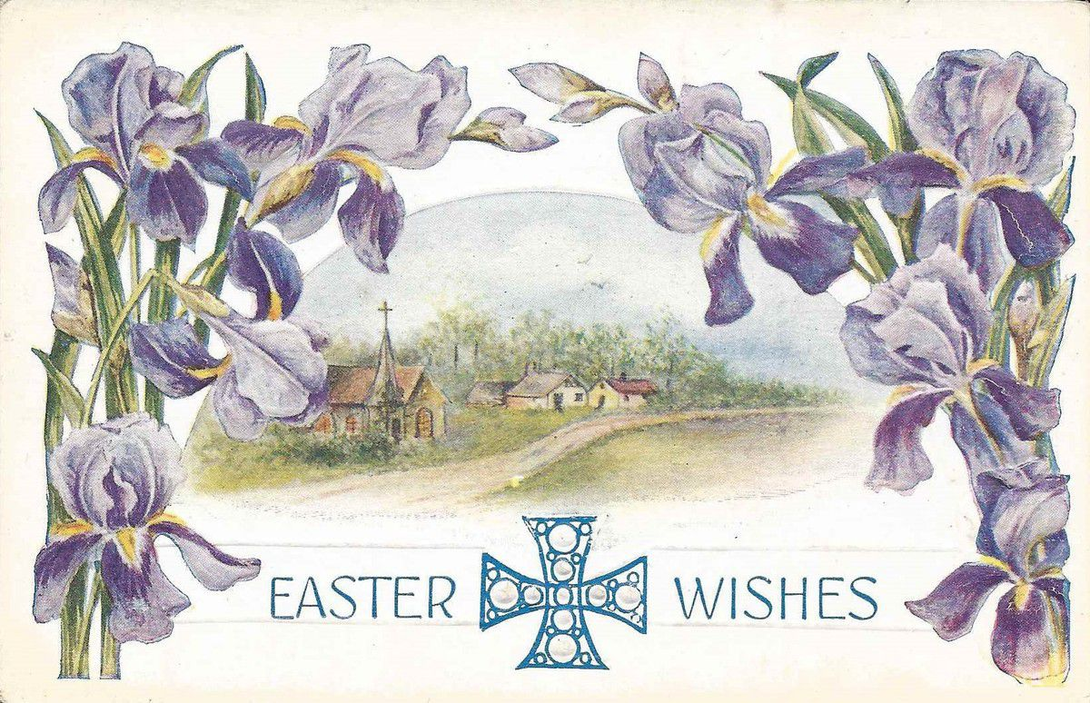 1051 - EASTER WISHES -