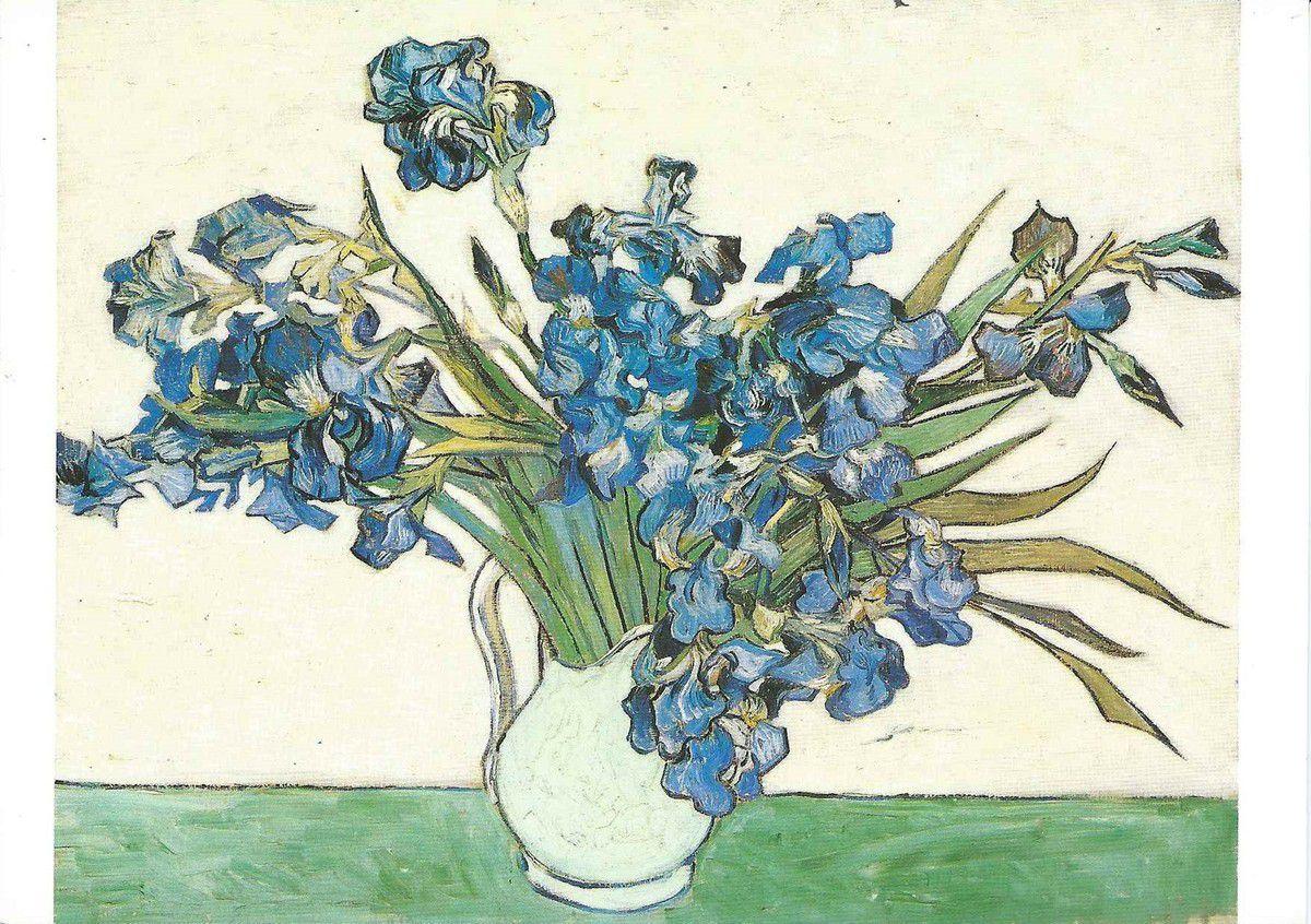 1161 - Irises - The Metropolitain Museum of Art , New York / cadeau d'Adèle R. LEVY, 1958 ( différence de cadrage de la photo)