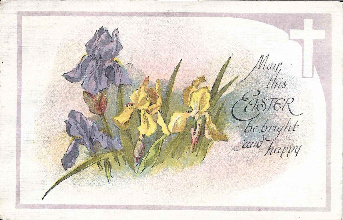 1140 - May this Easter be bright and happy - USA - 8.04.1925
