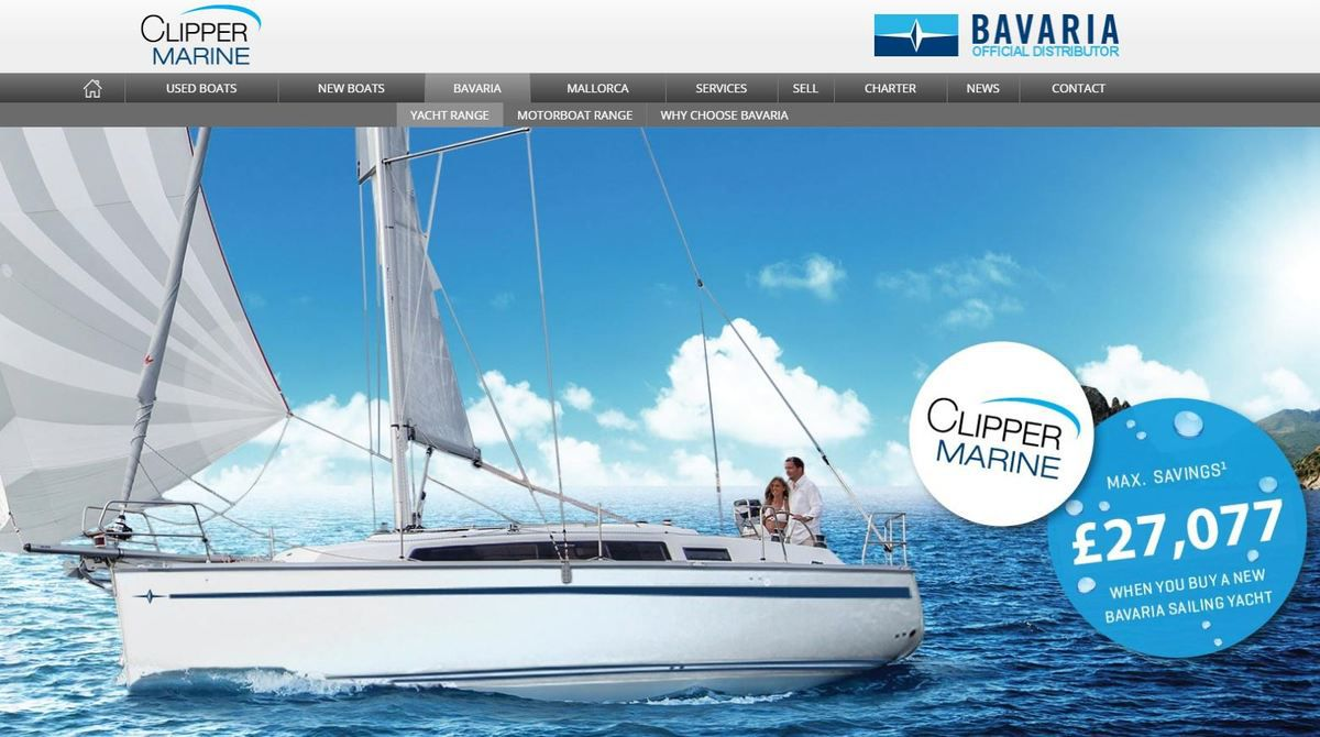 A British distributor to sell Bavaria sail- and motorboats... in Spain !