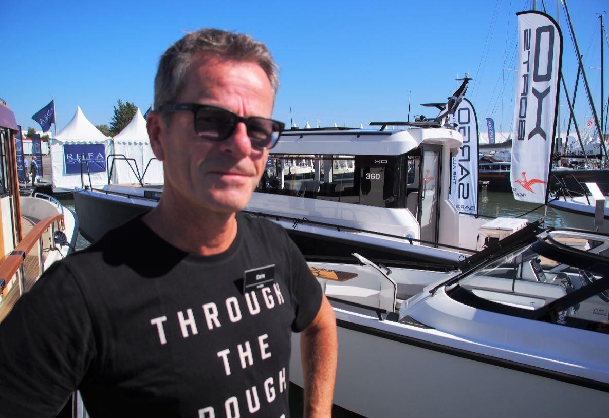 Calle Nyman - XO Boats shipyard