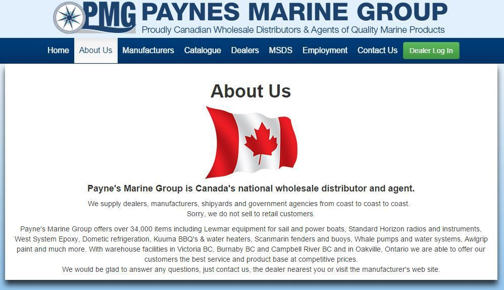 Mercury Marine acquires a major distributor in British Columbia